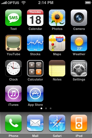 Setting up mail on your iPhone, iPhone 3G or iPhone 3G S